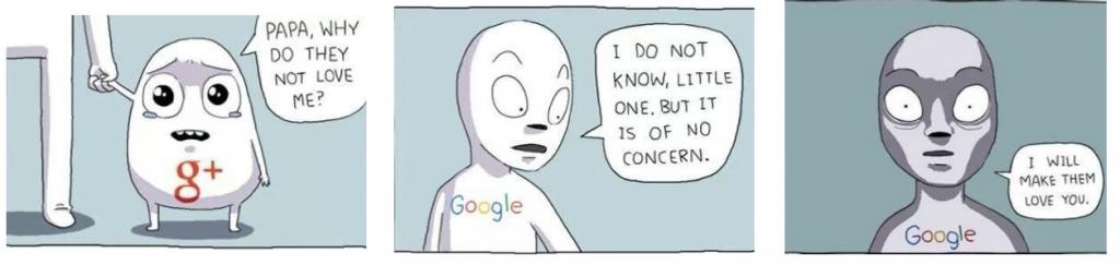 Google+-Comic