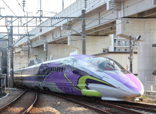 Tren bala de Neon Genesis Evangelion