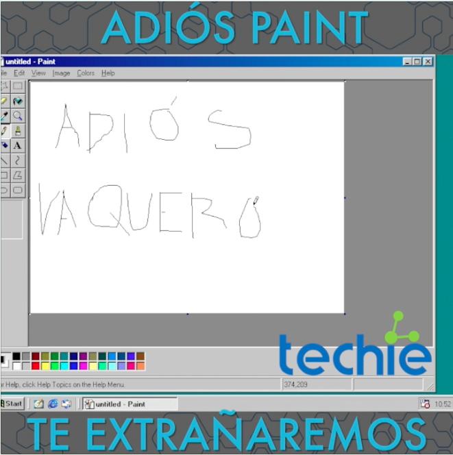 Microsoft le dice adiós a Paint :(