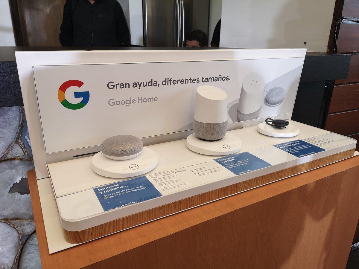 Google home llega a mexico