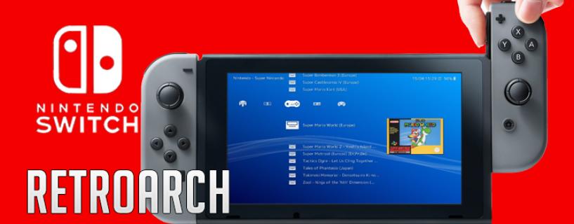 RetroArch llega a Nintendo Switch