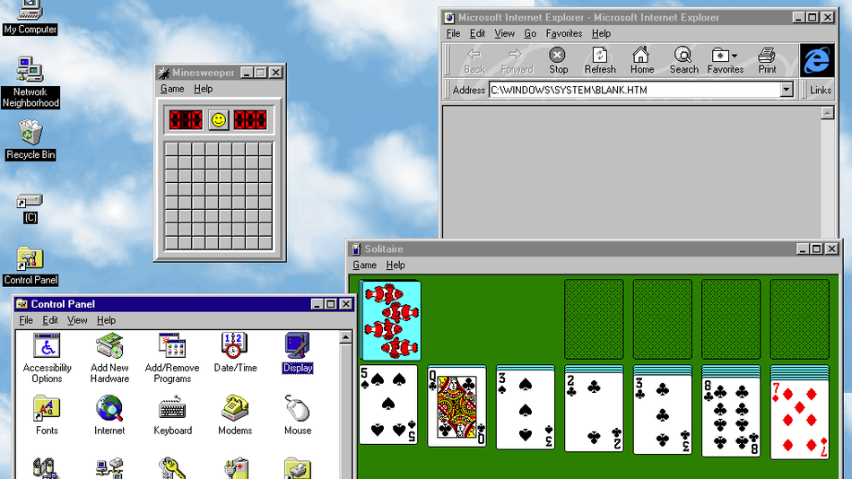 ¡Windows 95 está de regreso!