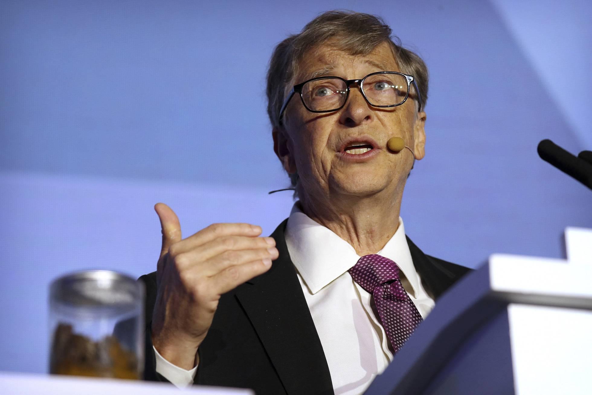 Bill Gates presenta inodoro que no usa agua