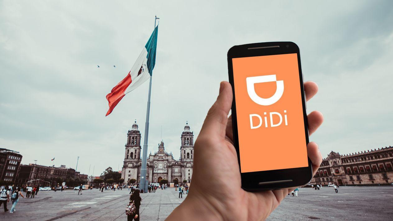 Didi, la competencia china de Uber, llega a la CDMX