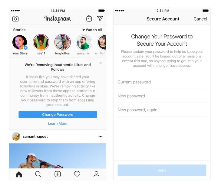 Instagram elimina seguidores y likes falsos 2