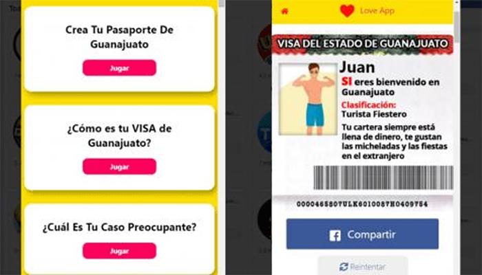 Usan los datos de quienes crearon su visa de Guanajuato