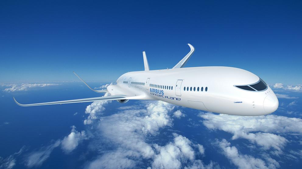 El primer avión eléctrico que vuela con el empuje del aire
