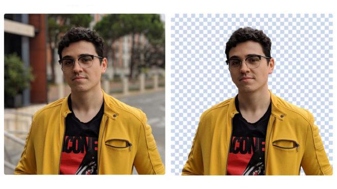 Elimina el fondo de una foto con un click