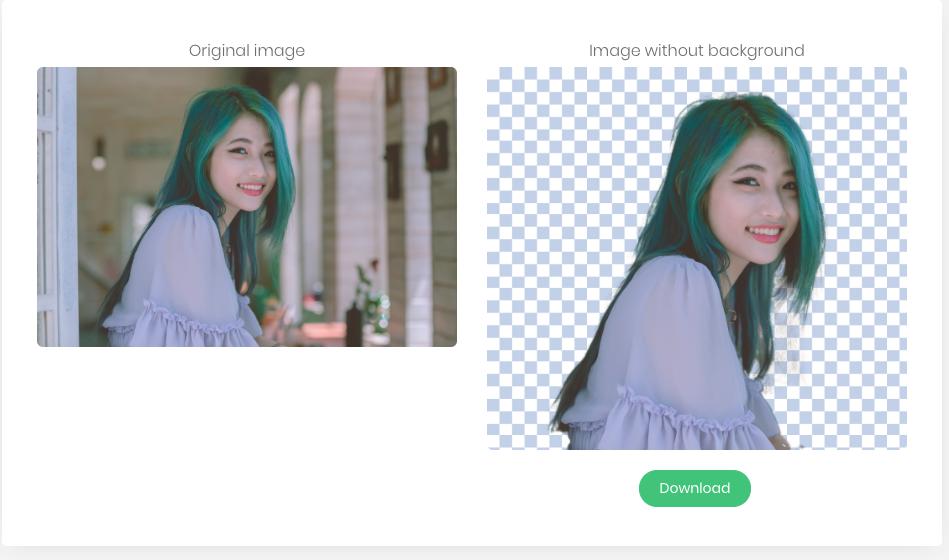 Elimina el fondo de una foto con un click 2