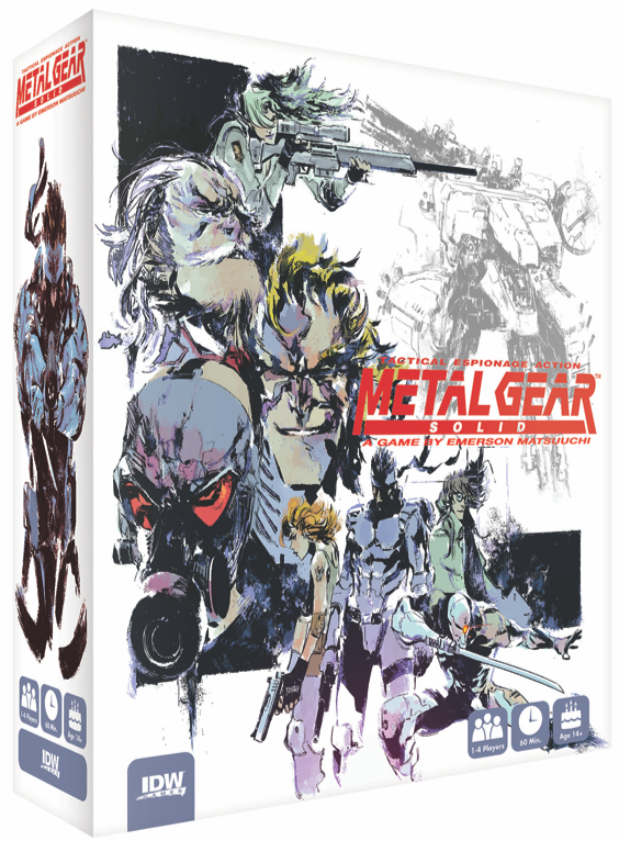 Metal Gear Solid tendrá un juego de mesa