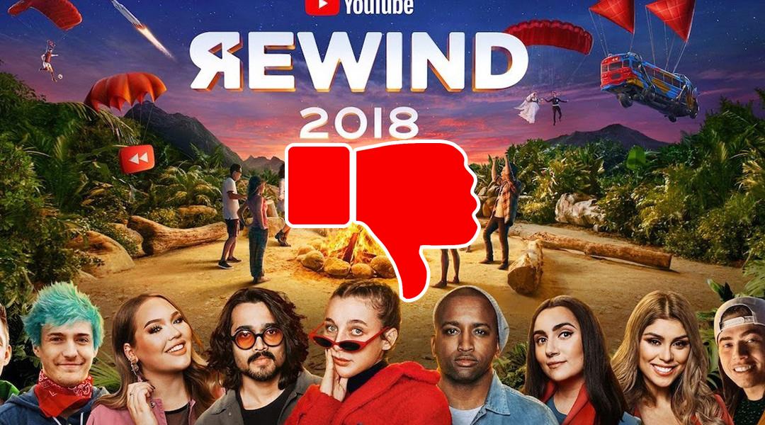 YouTube Rewind 2018: El video con más dislikes en la historia de YouTube