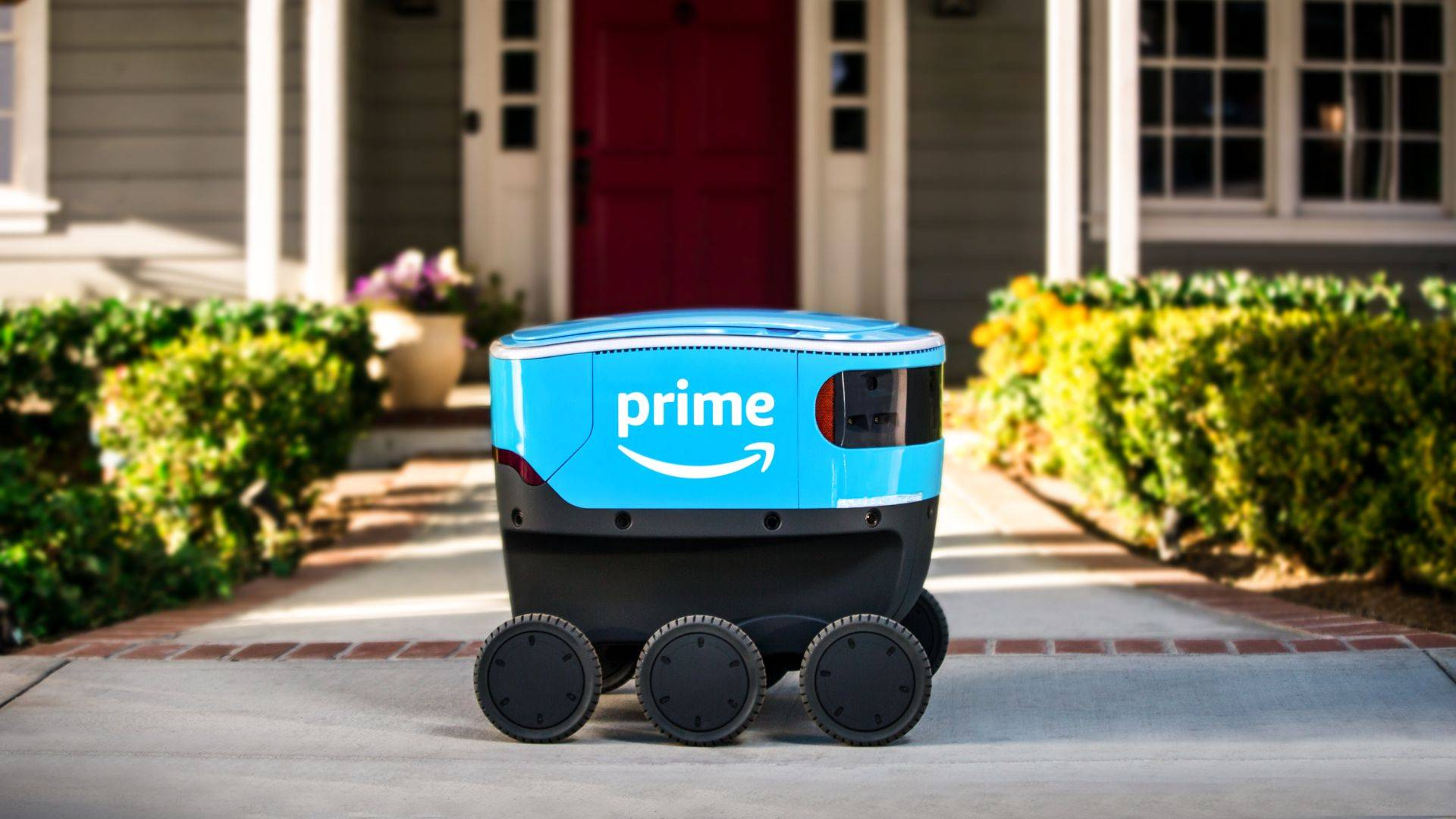 Amazon estrena a Scout, su primer robot repartidor autónomo