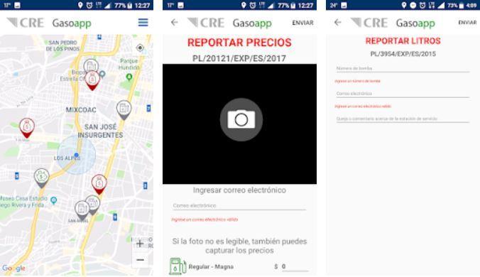 Apps que te dicen en dónde puedes encontrar gasolina 5