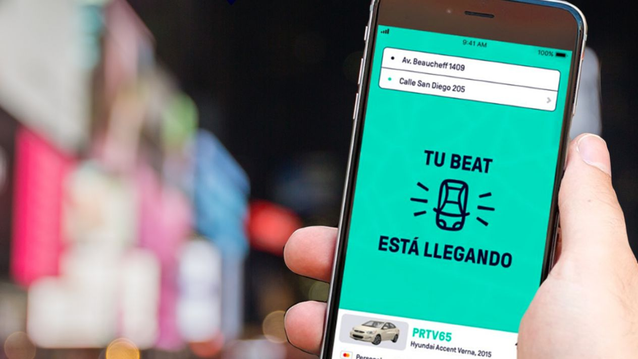 Beat llega a México para competir con Uber y Didi