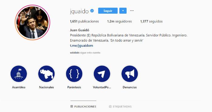 Instagram quita verificación a perfil de Nicolás Maduro