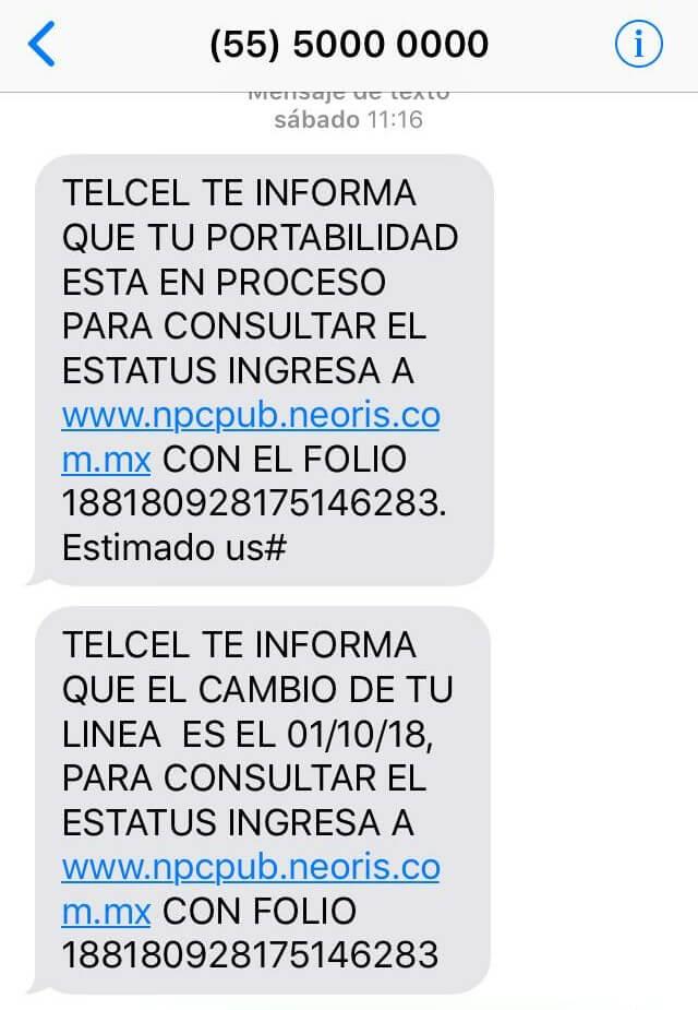 Reportan cambios de compañía telefónica sin autorización 2