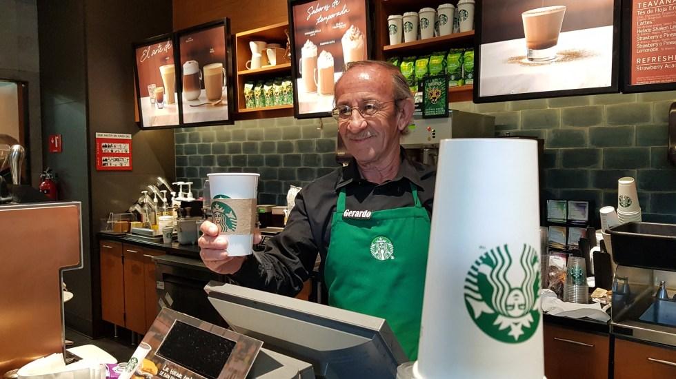 Starbucks inauguró segunda cafetería operada por adultos mayores