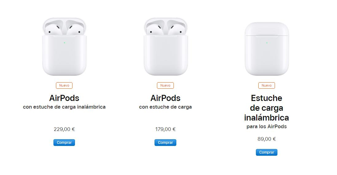 Apple presenta sus AirPods 2 con carga inalambrica 2