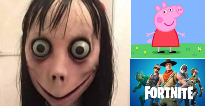 El peligroso 'Momo Challenge' aparece en vídeos de Peppa Pig y Fornite en Youtube