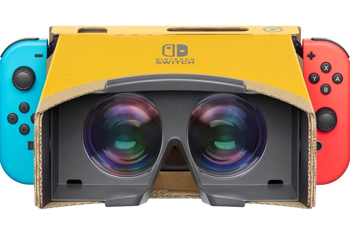 La realidad virtual llega al Nintendo Switch con el Labo VR Kit