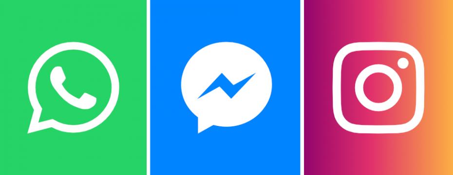 Los mensajes de WhatsApp, Instagram y Facebook estarán conectados