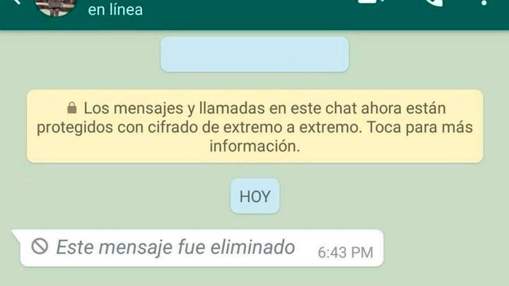 Te enseñamos a leer mensajes eliminados en WhatsApp