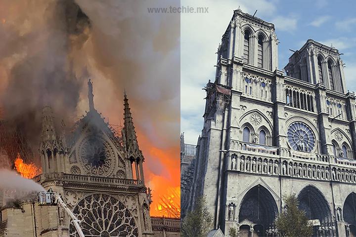 Assassin's Creed podría ser de gran ayuda para reconstruir la Catedral de Notre-Dame