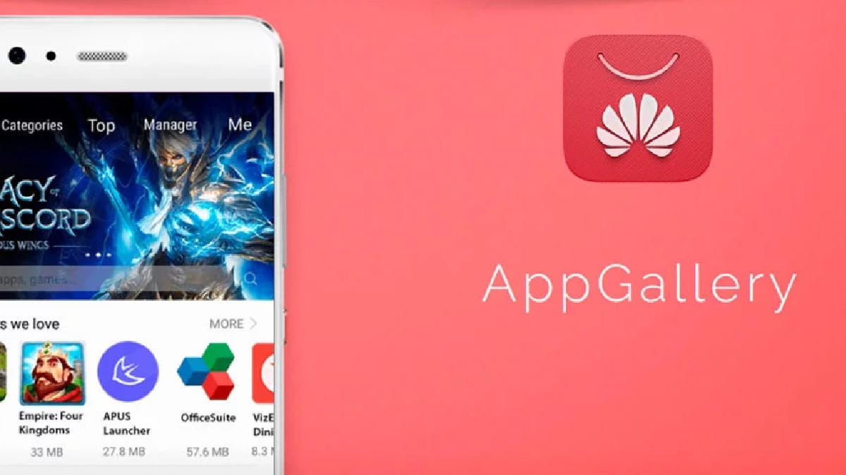 """Esta es App Gallery, la """"Google Play"""" de Huawei"""