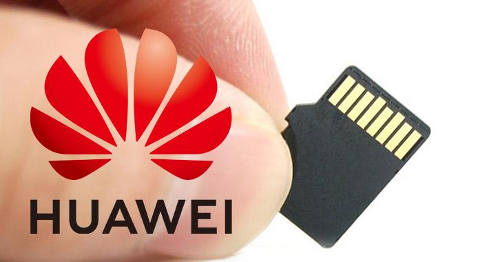Huawei ya no podrá usar tarjetas microSD
