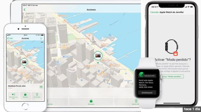 Ahora puedes localizar tu iPhone aunque no tengas internet