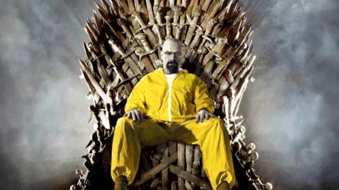 Breaking Bad derrota a Game of Thrones como la serie mejor calificada