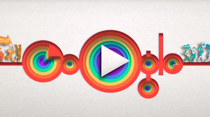 Google celebra el Orgullo Gay con un doodle
