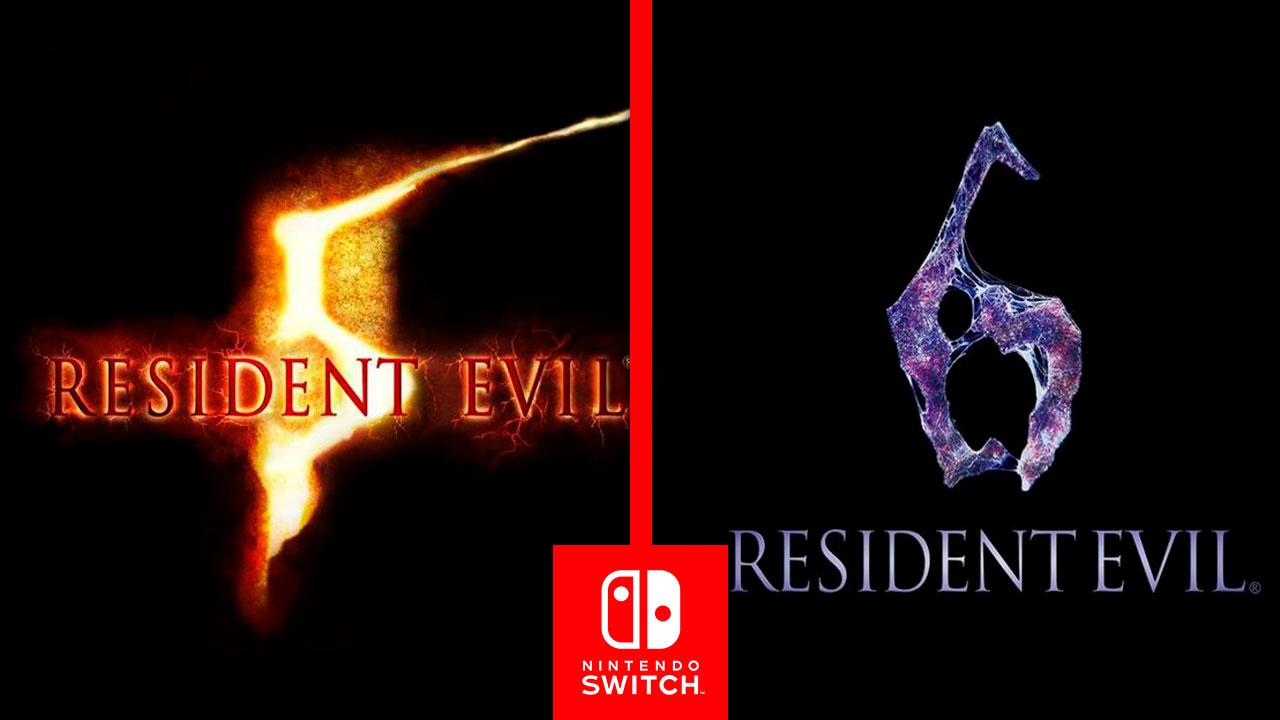 Resident Evil 6 y 5 pronto llegaran a Nintendo Switch