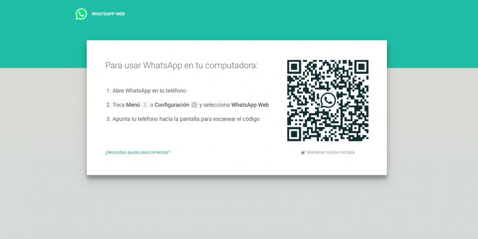 Roban datos de WhatsApp por medio del QR