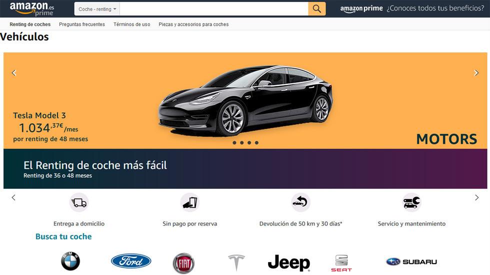 Ya puedes rentar autos en Amazon, te decimos cómo hacerlo