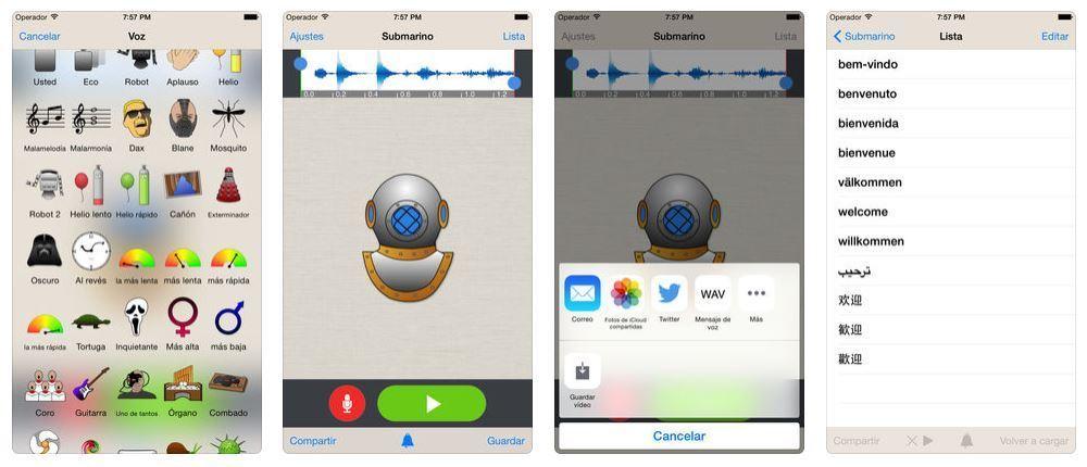 Cambia tu voz para mandar audios en WhatsApp 2