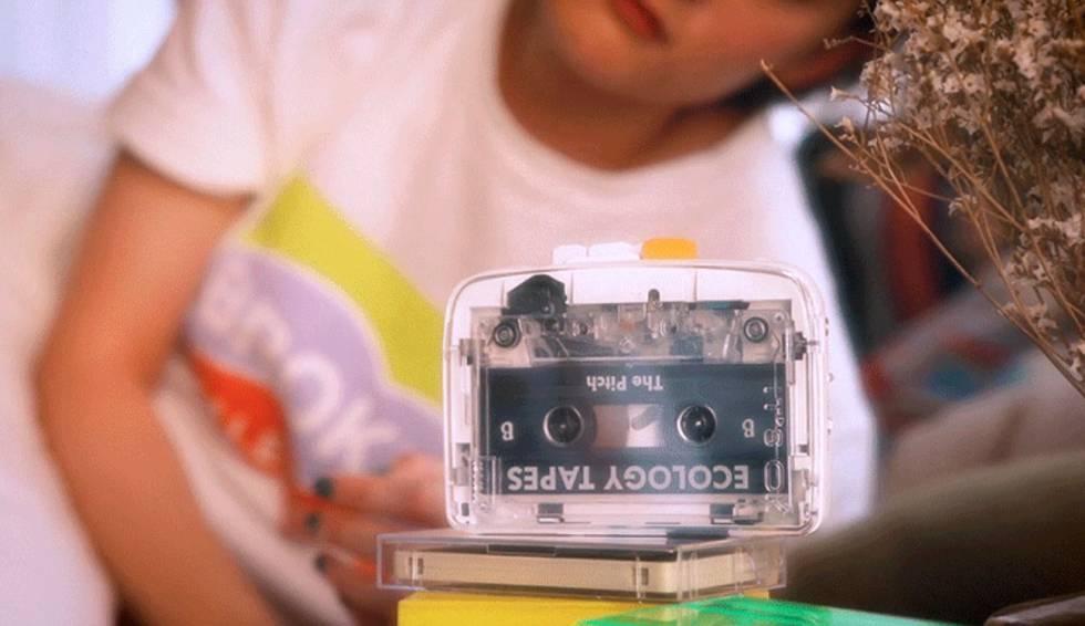 Conoce el nuevo walkman para cassettes con Bluetooth