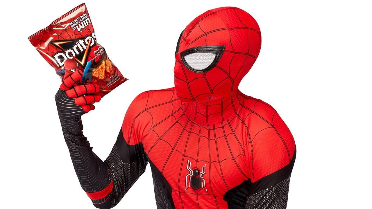 Doritos te regala la réplica oficial del traje de Spider-Man