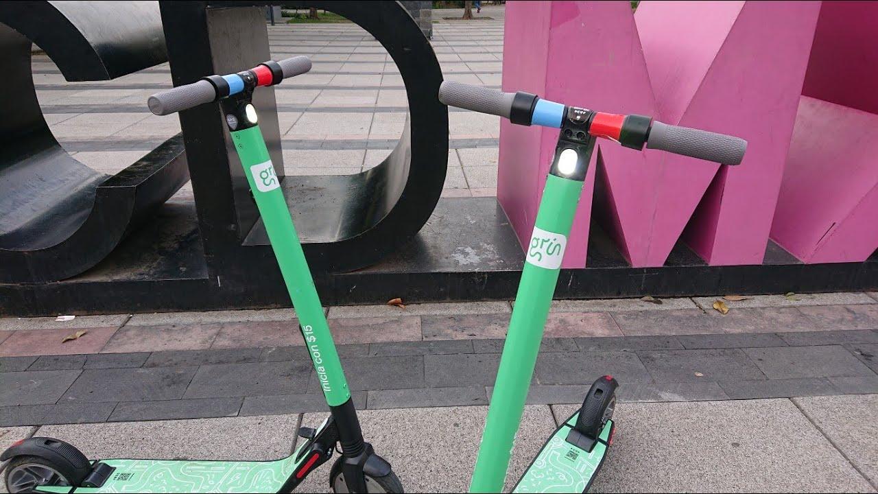 Grin deja de operar en CDMX por el robo de sus scooters