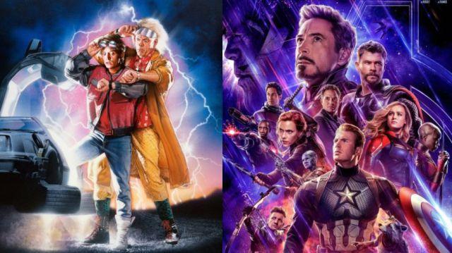"""Guionista de """"Volver al Futuro"""" responde a Avengers sobre los viajes en el tiempo"""