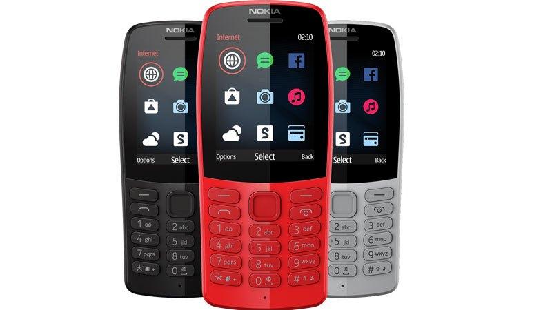 Nokia lanzó dos modelos de celulares retro