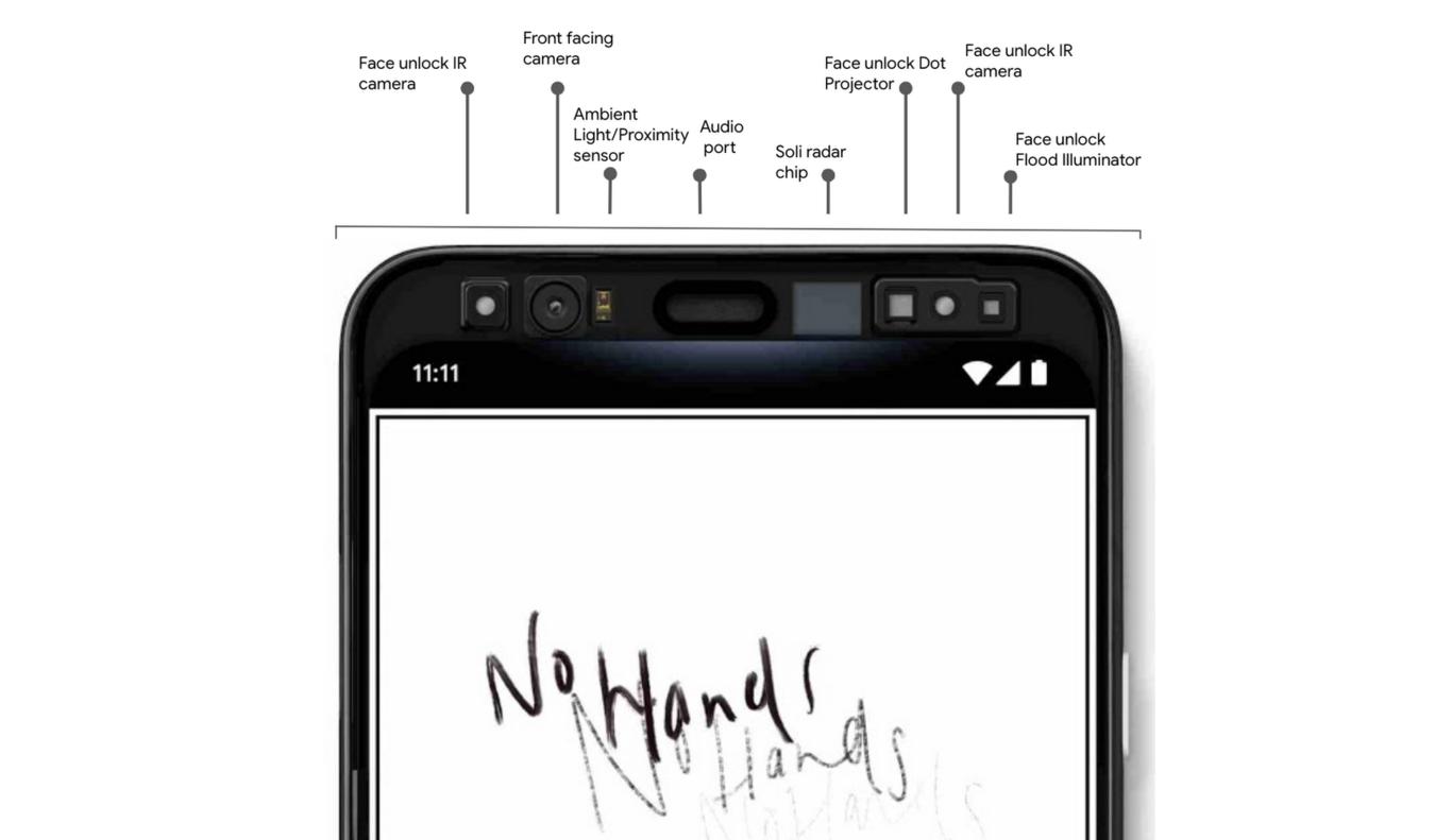 Pixel 4, el smartphone que podrás controlar sin tocar la pantalla
