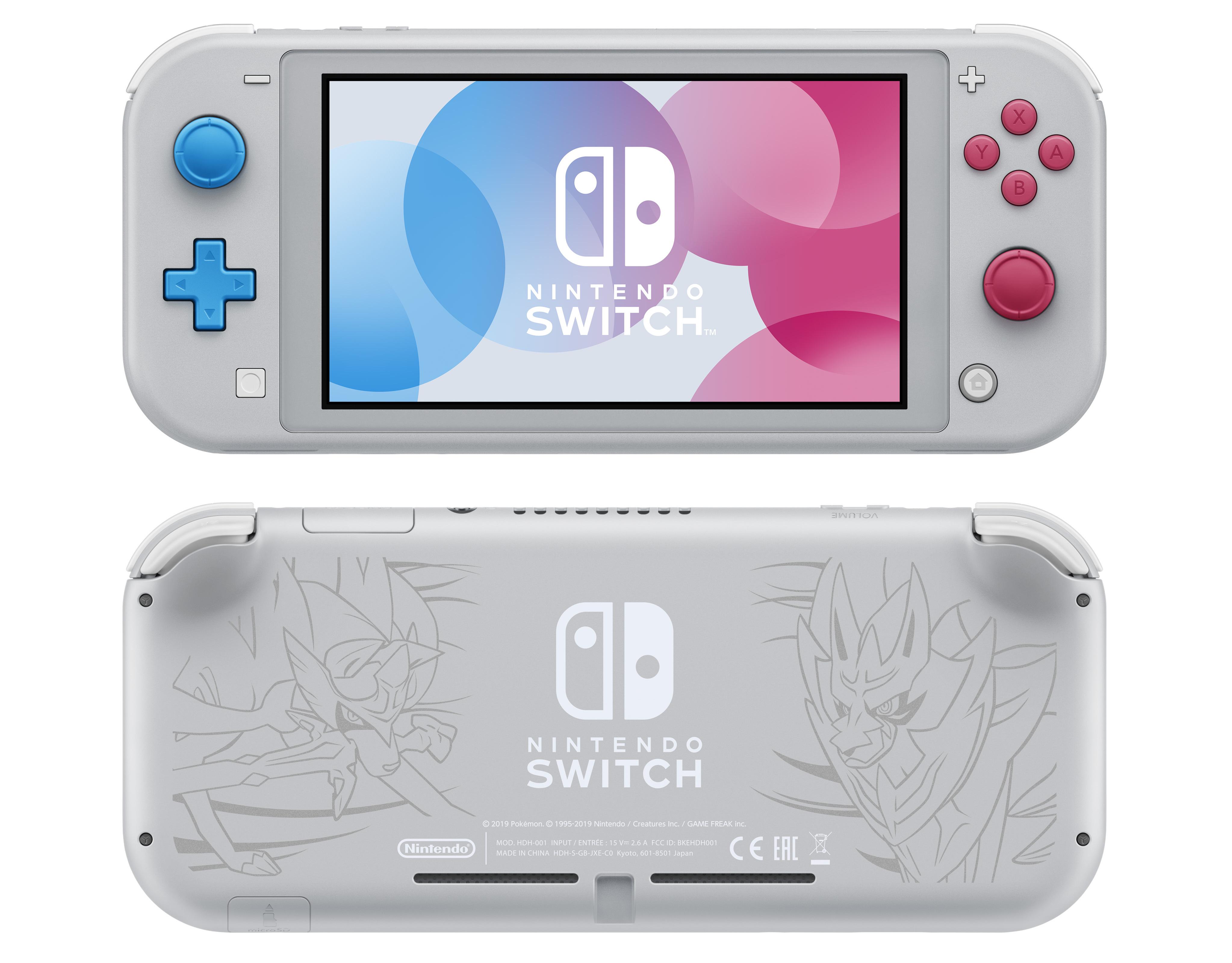 Prepárate para Switch Lite, la versión pequeña de la consola de Nintendo