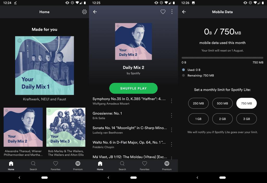 Spotify Lite llegó a México, promete consumir menos espacio y batería