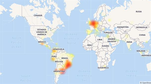 WhatsApp, Facebook e Instagram vuelven a fallar a nivel mundial 2