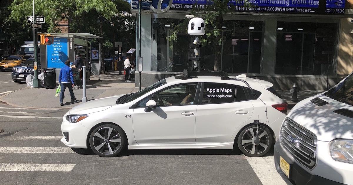 Apple circula 80 vehículos con cámara en ciudades de Alemania
