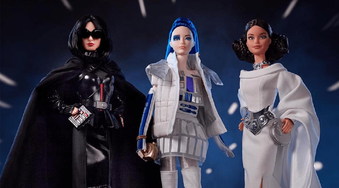 Barbie lanza colección inspirada en Star Wars