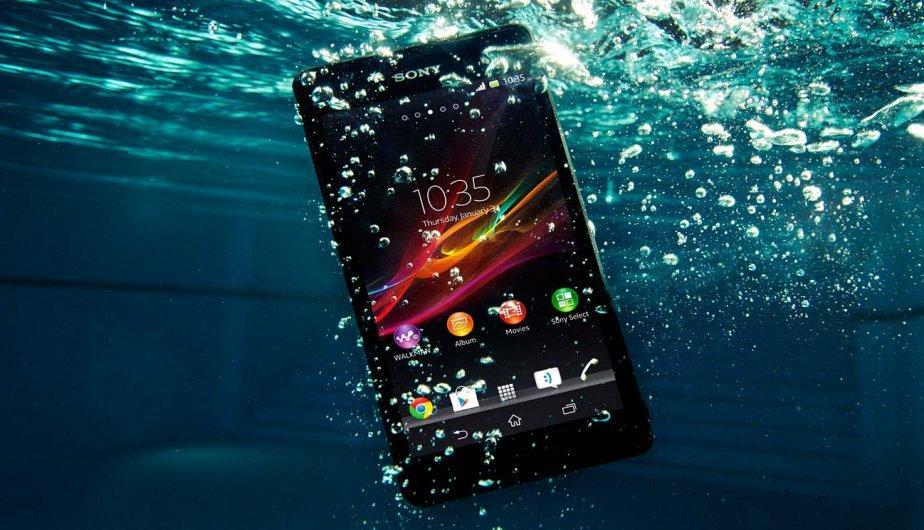 Conoce la resistencia al agua de tu smartphone