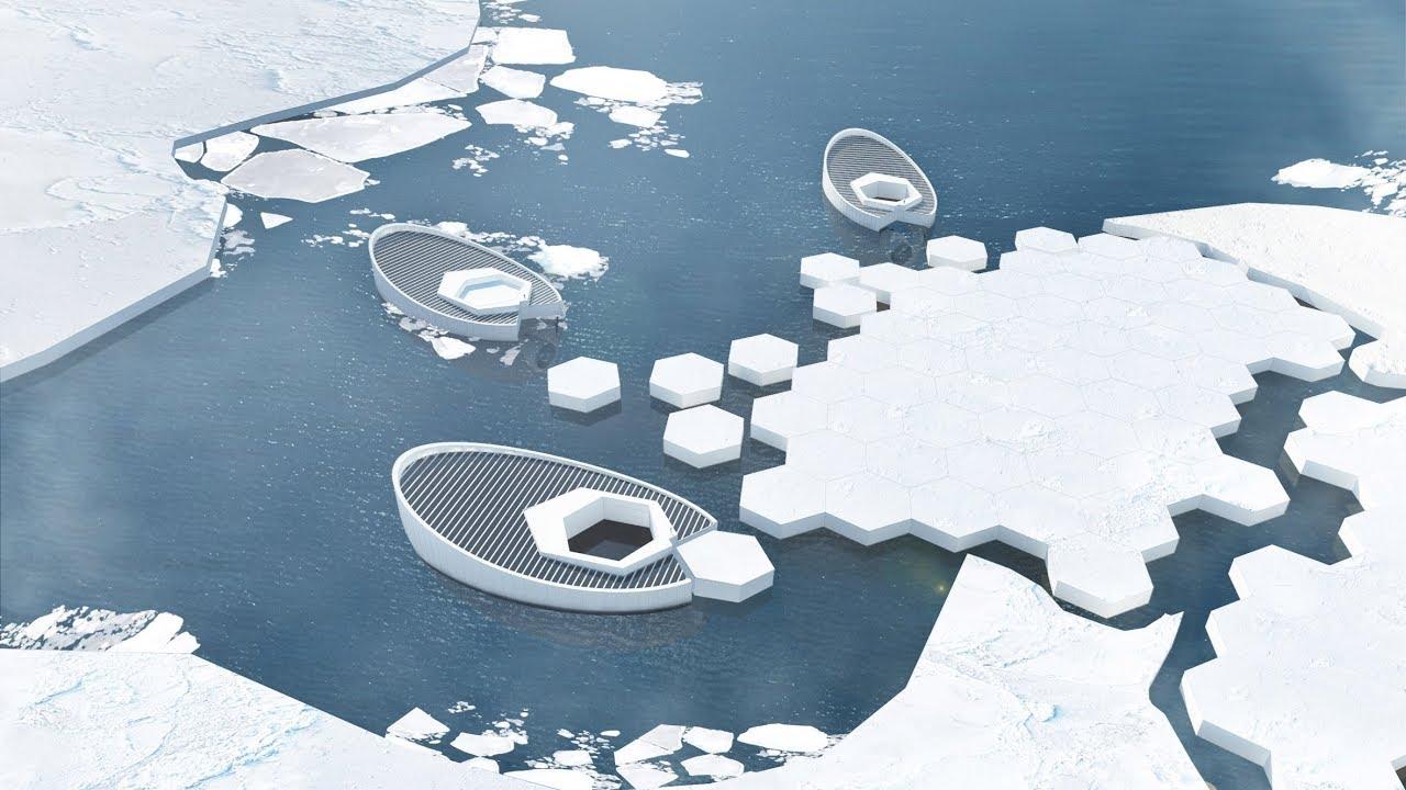 Construirán submarino para fabricar icebergs y combatir cambio climático