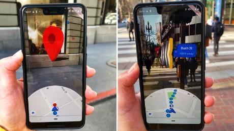 Google Maps en realidad aumentada ya está disponible para todos